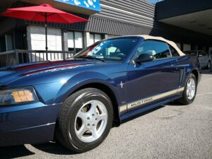 mustang with GT Quartz